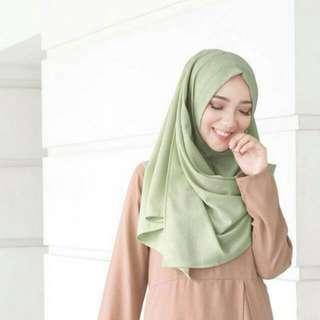 Hijab murah KERUDUNG PASTAN / PASMINA INSTAN DRAPERY