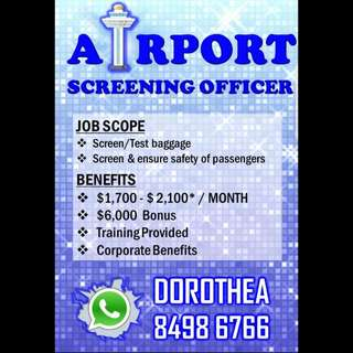 AIRPORT SCREENING OFFICER