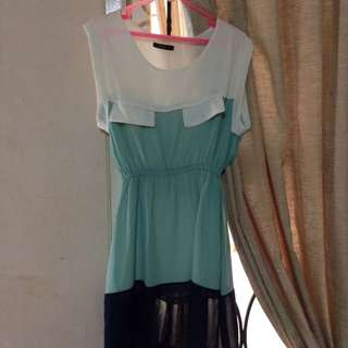 Mini Dress Yellowline