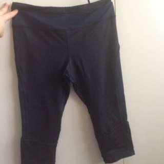 3/4 length tights