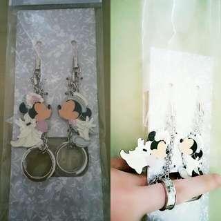 🆕HK Disneyland Couple Rings - Accessories/ Keychains