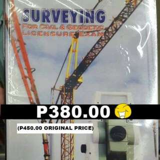 Surveying For Civil And Geodetic Licensure Exam Besavilla