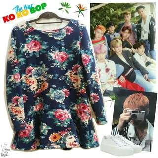 ❌RESERVED❌Kpop Inspired EXO - Ko Ko Bop Dress 3