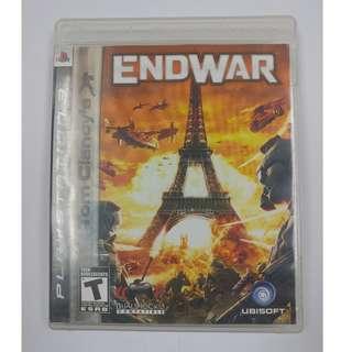 PS3 GAME ENDWAR END WAR TOM CLANCY'S