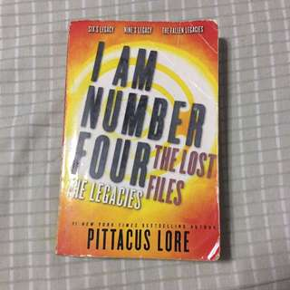 I Am Number Four by Pittacus Lore (PAPERBACK)