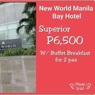 NEW WORLD MANILA BAY HOTEL VOUCHERS