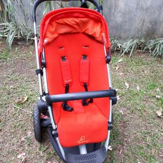 Stroller Quinny Buzz Red 2013