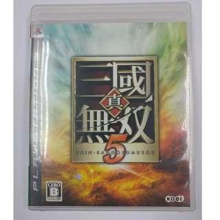 PS3 GAME 真三國無雙 5 shin sangokumusou