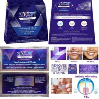 (REALLY WORKS!) Teeth Whitening Crest 3D White