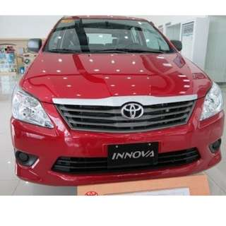 8drive Rent a car Innova 2015 E AT Diesel Van
