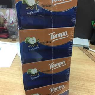 Tempo 蘋果味一條4盒裝