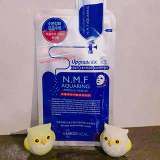 Mediheal N.M.F Aquaring Ampoule Mask EX [Ready Stock][Authentic]