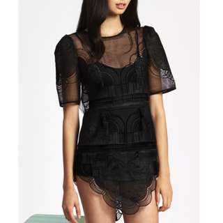 Alice McCall - Are You Dreaming Dress - Black - Size 6 - BNWT - RRP $340