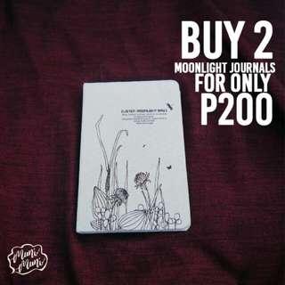 Moonlight Journal Buy 2 For 200