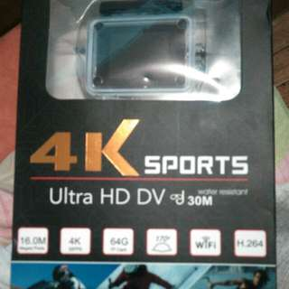 4K Sports wifi action camera ( Ultra HD DV )