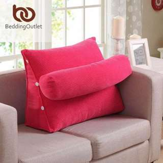 Multifunction cushion with roll pillow