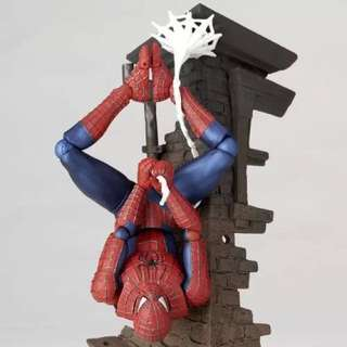 Spider-Man Wall Hugging