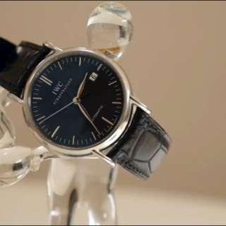 IWC柏濤菲諾機械腕錶
