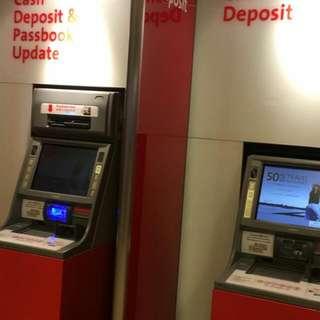 Cash Deposit Instructions