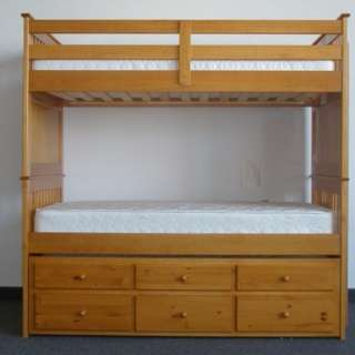 Kapitana Bunk bed with oull out bed and drawers
