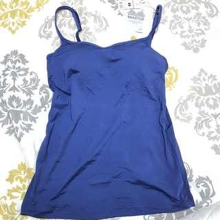 BNWT Pierre Cardin bra top (padded camisole)