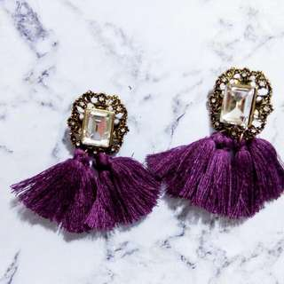 Anting Tassel / anting pesta