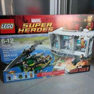 Lego Ironman Malibu Mansion 76007