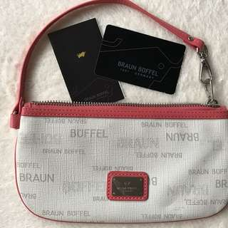 Authentic Braun And Buffel Pouch