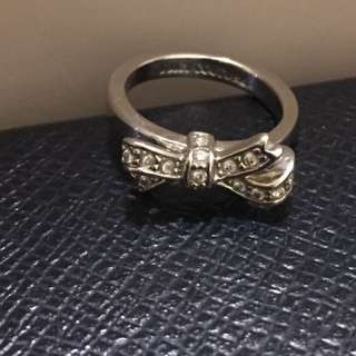 Juicy Couture Pave Bow Ring