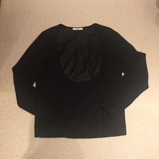 Givency Black Color Pullover