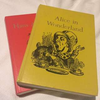 Alice In Wonderland + Hans Christian Anderson Fairytales