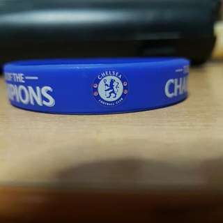 CHELSEA Wrist Band. Limited Edition. From The Singapore Cup This Week!