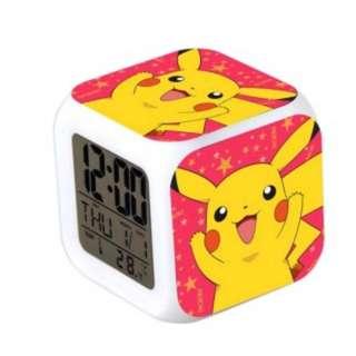 Jam Meja Alarm Pokemon