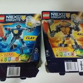 LEGO NEXO KNIGHTS 2 套