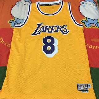 NBA LAKERS KOBE BRYANT 主場球衣 紫金配色 Adidas