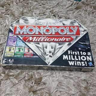 Monopoly Board Game - Millionaire Edition