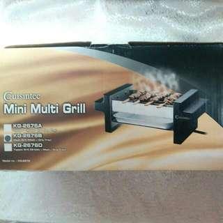 Cuisintec KG-2676 Mini Multi Grill 迷你燒烤爐