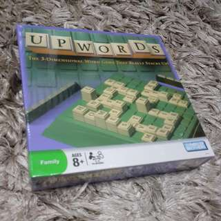 Upwords Word Game - By Parker Brothers