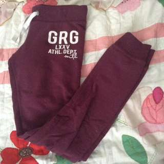 Garage Burgundy Pants