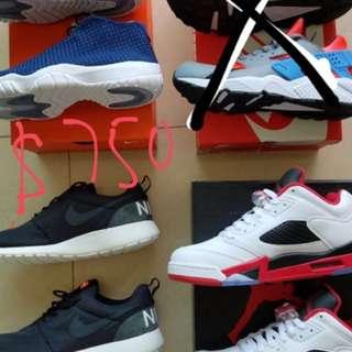 Nike Roshe Run , Jordan Future ,Jordan 5