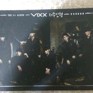 VIXX 巫毒娃娃 韓版 正規一輯