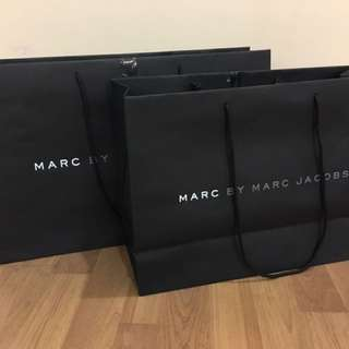 100% Authentic Branded Paper Bags (2)