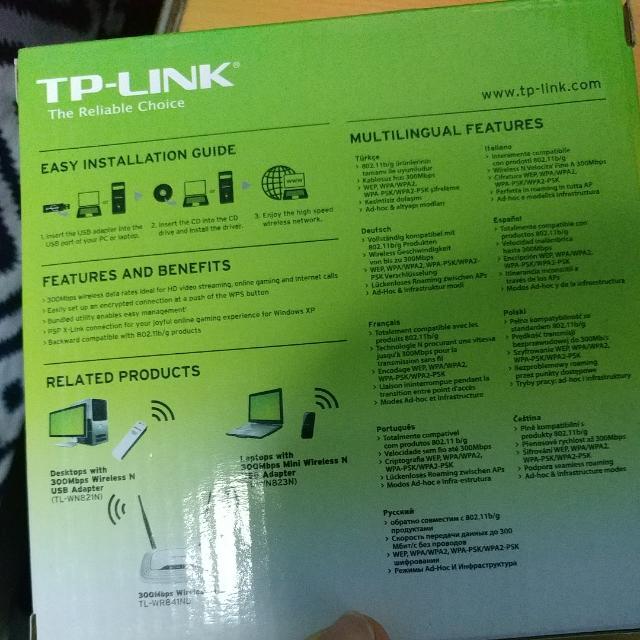 300mb/s Wireless N Usb Adapter