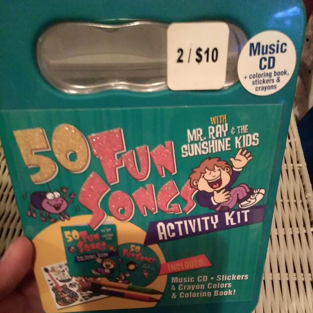 50 Fun Songs And Activity Kit
