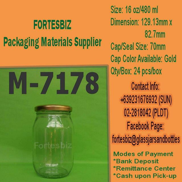 7178 or 480ml Jar