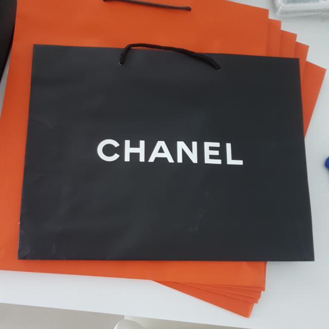 香奈兒紙袋