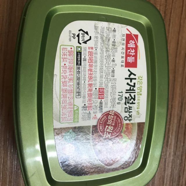 贈送🎁韓國醬料/拌飯醬/豆瓣醬