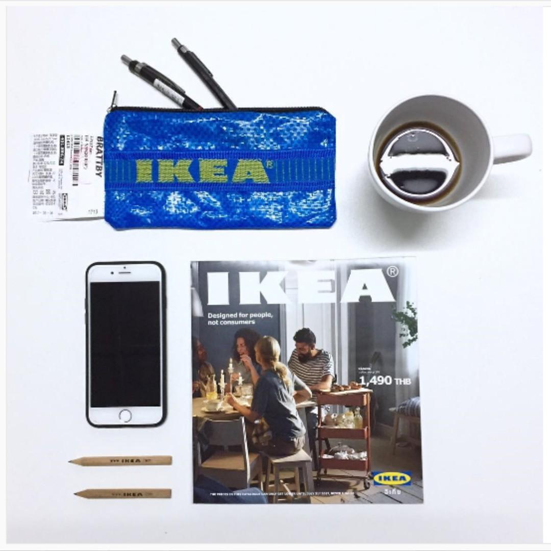 現貨🌵 IKEA FRAKTA 筆袋 鉛筆盒 化妝包 隨身包 手工 重製款