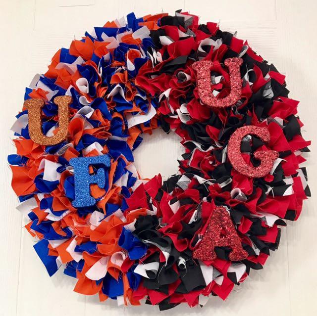 """""""A House Divided"""" Handmade Wreaths"""