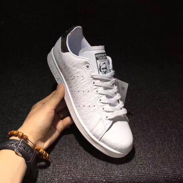 sale retailer c334c e7195 Adidas Stan Smith (Crocodile Pattern)